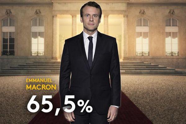 Emmanuel Macron nouveau président de la République française