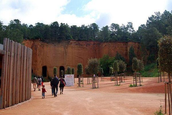 Les mines d'ocre de Bruoux se visitent ce week-end lors des journées du patrimoine.