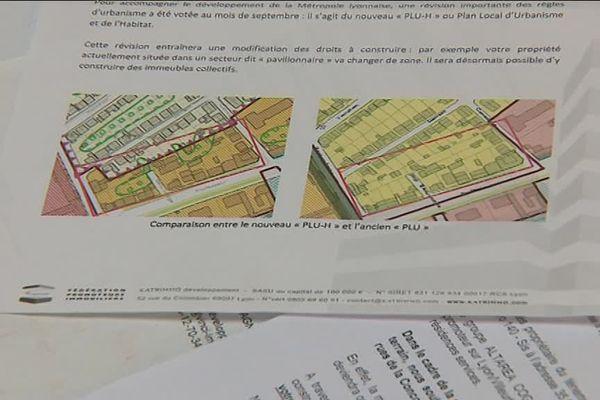 Le PLU-H de la Métropole de Lyon : des habitants inquiets