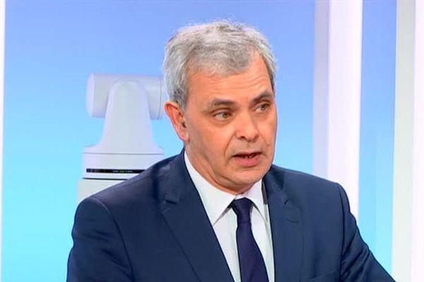 Christophe Bouchet sur le plateau du 19/20 le lundi 26 mars 2018