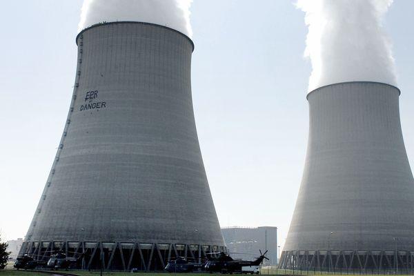 La centrale nucléaire de Belleville-sur-Loire, dans le Cher.