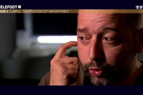 """Le Président du club s'est exprimé ce dimanche matin dans l'émission """"Téléfoot""""."""