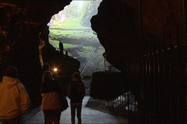La grotte Glacière a connu une température maximale de 3°C en ce jour de canicule.