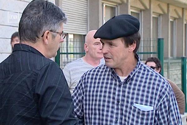 Archives. Jean-Michel Ayçaguer, l'agriculteur basque qui fait condamner l'Etat français.