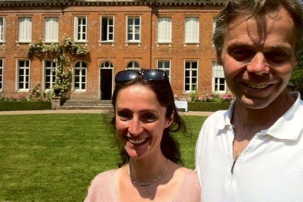 L'énergie du couple de Pas est investie à la sauvegarde du patrimoine du château de Bois-Guilbert.