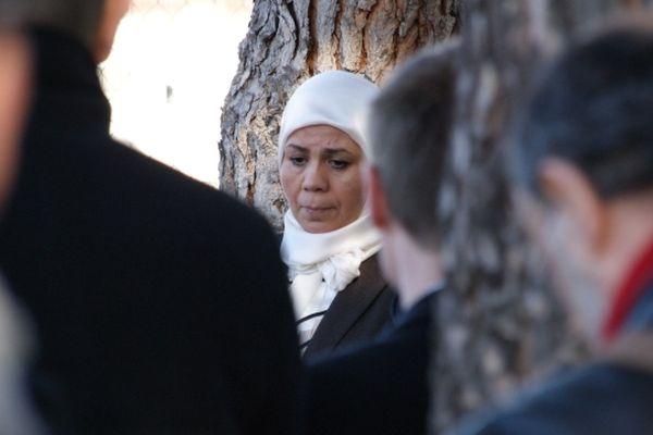 Latifa Ibn Ziaten, mère de la première victime de Merah, ce matin à Toulouse