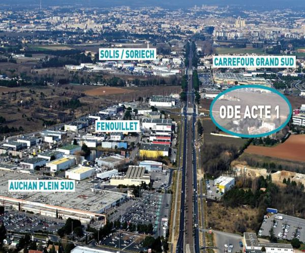 Visuel du projet commercial Ode à la mer à Montpellier. Juillet 2015