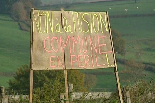 Les communes du Rousset et de Marizy en Saône-et-Loire ne veulent pas d'une fusion.