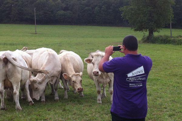 Tout le monde peur participer au concours phot des Jeunes Agriculteurs de ll'Allier
