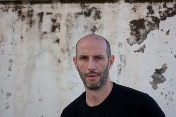 """Philippe Pujol, auteur de """"Alta Rocca"""", un western corse."""