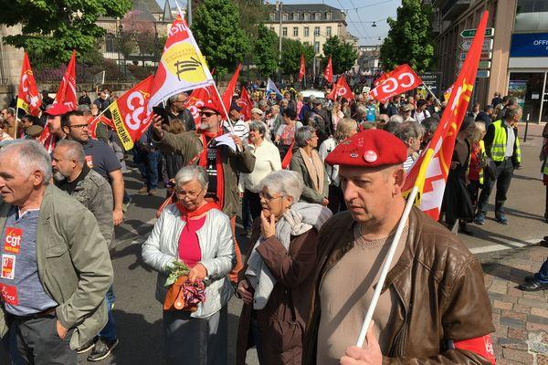 La manifestation du 1er mai à Limoges