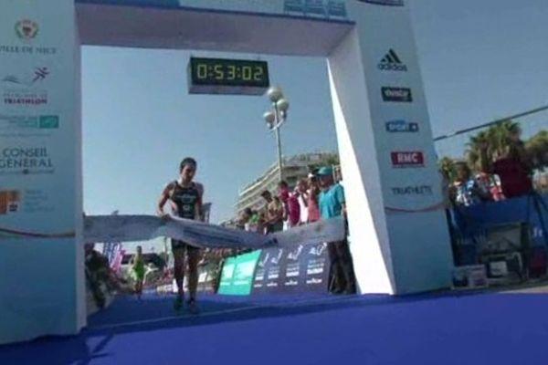 Le départ du Triathlon de Nice à 8h ce dimanche.