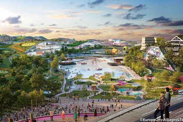 Europacity, aussi grand que le quartier du Marais à Paris, veut devenir une destination touristique pour 31 millions de visiteurs par an.
