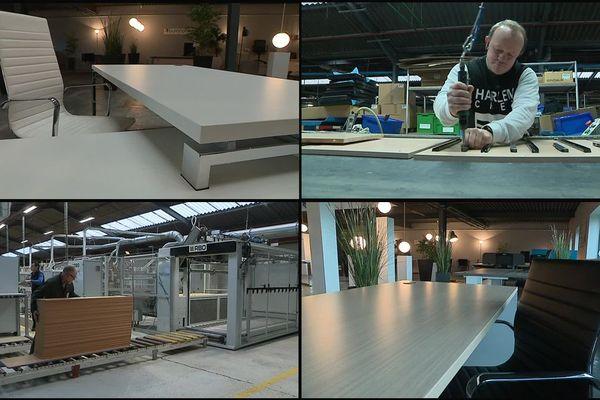 Depuis 1981, l'entreprise Buronomic fabrique et invente à Honfleur du mobilier de bureau