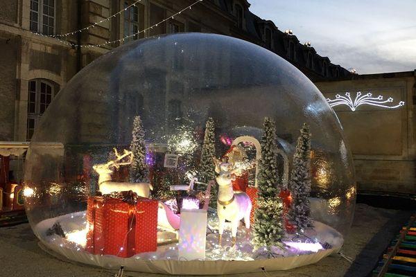 La féerie de Noël s'empare de la capitale des sacres.