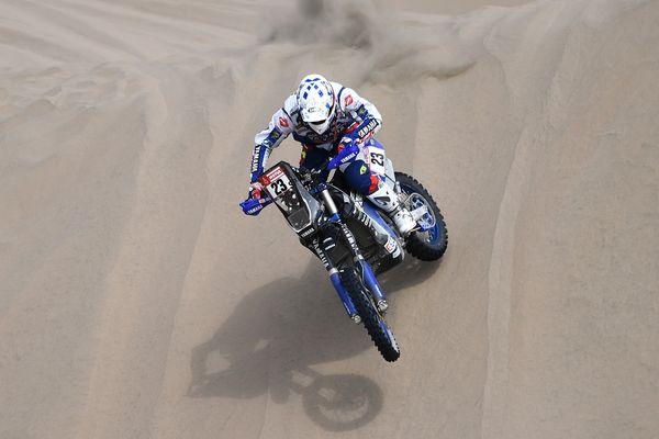 Pour la quatrième étape du Dakar, le pilote moulinois Xavier de Soultrait a terminé à la seconde place de la spéciale de San Juan de Marcona, mardi 9 janvier. Il pointe désormais à la 5ème place du général.