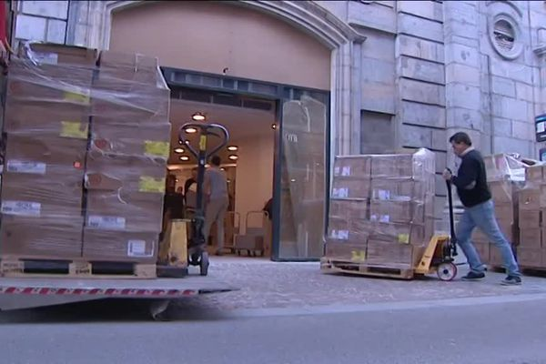 Le patron de l'Intranquille espère en faire la plus grande libraire de l'Est de la France avec 1200 m2 de surface commerciale