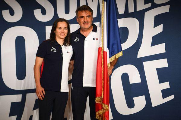 La judokate Sandrine Martinet et le tennisman Stéphane Houdet seront les deux porte-drapeaux de la délégation française aux Jeux paralympiques 2021 à Tokyo.