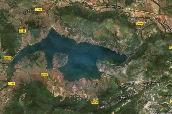 Lac du Salagou (Hérault) - Google map