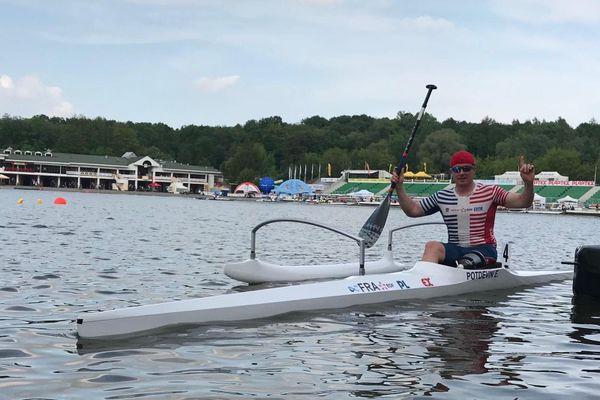 Eddy Potdevin a repris l'entraînement. En route vers les jeux paralympiques ?