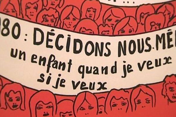 """L'exposition """"L'avortement, quelle histoire"""" a lieu à l'Espace Mendès France de Poitiers jusqu'au 4 juillet 2015."""