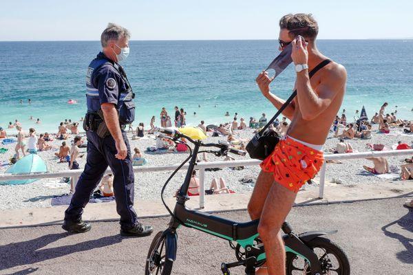 Le port du masque est obligatoire depuis ce lundi 3 août à Nice.