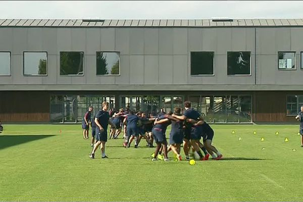Lundi 2 juillet au matin, 27 rugbymen ont retrouvé la pelouse du stade André Boga