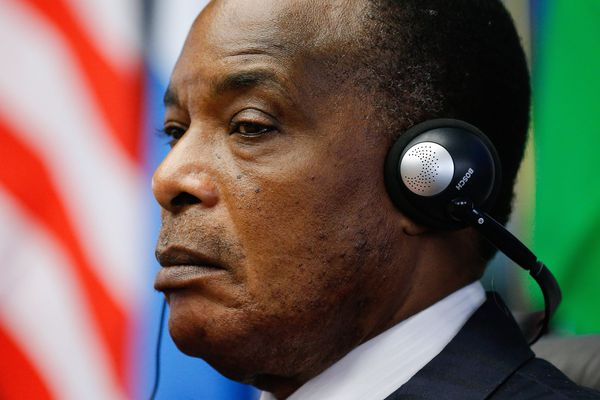 Le président du Congo, Denis Sassou Nguesso.