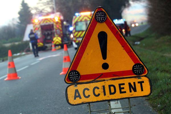 Illustration. Un accident de la route a eu lieu à Sancey (Doubs), ce mercredi 5 août : un mort et quatre blessés ont été déplorés.