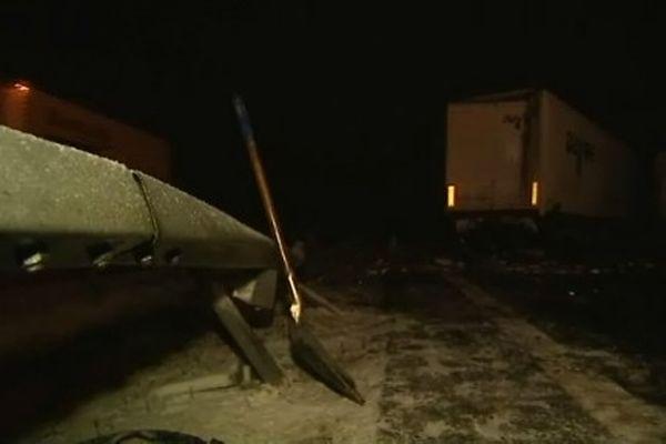 l' A 75 au Buisson : brouillard et verglas à l'origine des deux accidents
