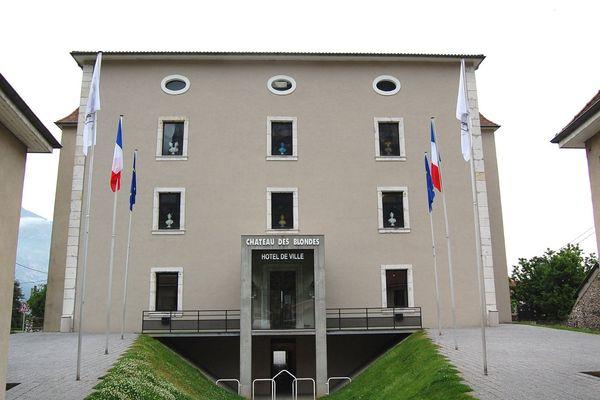La mairie de Sassenage en Isère