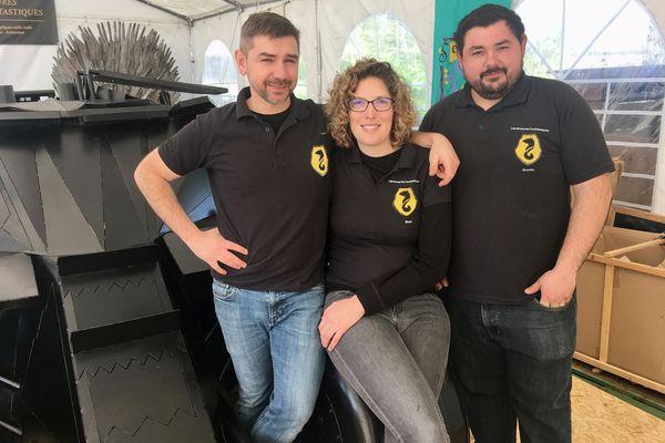 """L'équipe de l'association """"les Armures Fantastiques"""" aura mis deux ans à réaliser la Batmobile"""