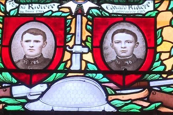 Les soldats montbertains morts pour la France immortalisés sur les vitraux de l'église