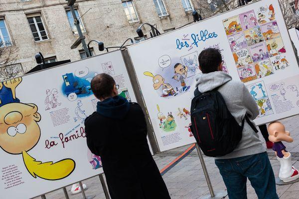 Le FIBD 2018 a lieu jusqu'au 28 janvier 2018 à Angoulême.