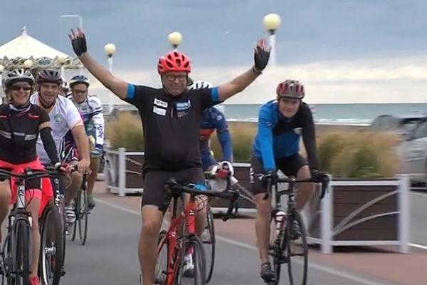 Philippe Lambert va commencer son parcours de 3000 km à vélo, en septembre 2019.