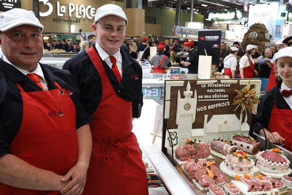 La région des Hauts-de-France gagne le concours de boucherie-étal organisé par la Confédération française de la boucherie.