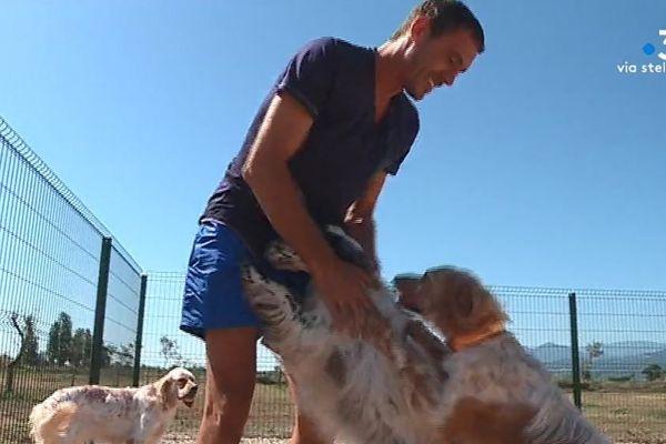 Christophe Capone a ouvert, en juillet dernier, une pension canine