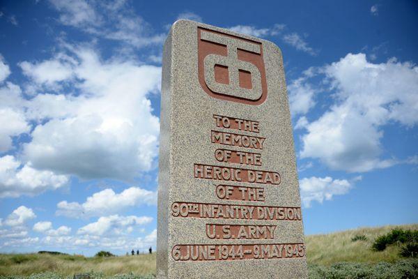 Monument américain de Utah à Sainte- Marie-du-Mont (50). Comme chaque année, une cérémonie aura lieu le 6 juin 2020, à l'occasion des commémorations du Débarquement du 6 juin 1944 en Normandie. Elle sera retransmise dans un live Facebook.