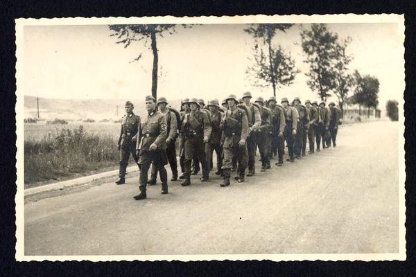 Soldats allemands dans l'Audomarois, durant la Seconde guerre Mondiale