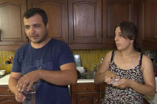 Artur, Haykuhi et leurs enfants vont pouvoir rester à Saintes