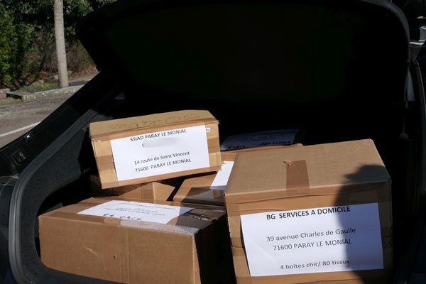 Le mardi 31 mars, ce sont 20 000 masques qui ont été distribués sur tout le département.