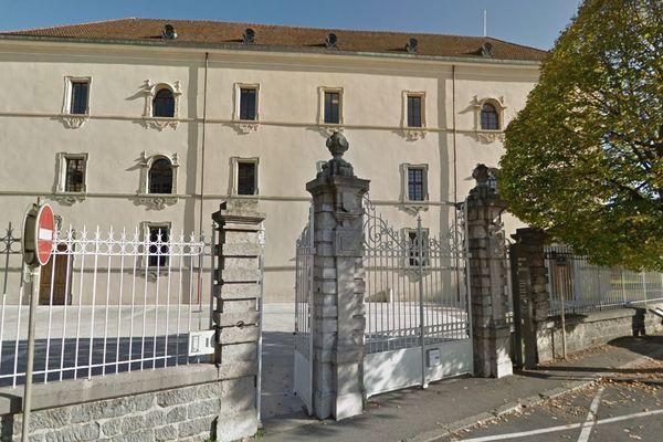 Le palais de justice de Thonon-les-Bains, en Haute-Savoie. Photo d'illustration.