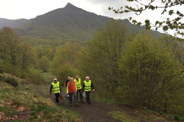 Dans le Cantal, les baliseurs des chemins de randonnée ont décidé de faire grève pour obtenir un financement pérenne.