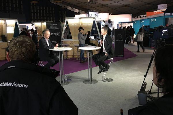 Emmanuel Faure, France 3 Pays de la Loire et son invité Simon Richir, directeur scientifique de Laval Virtual