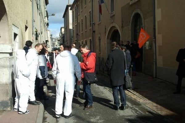 Les salariés de Spanghero demandent audience à la préfecture de l'Aude