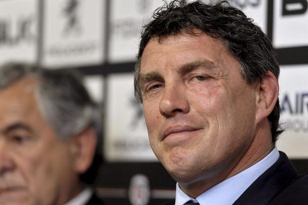Didier Lacroix et son prédécesseur, René Bouscatel, à la Présidence du Stade Toulousain