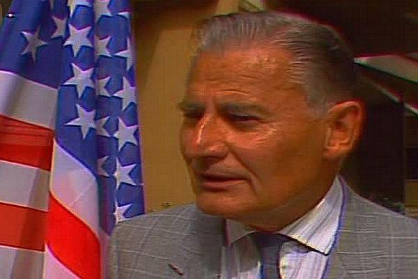 Edouard Decoster en 1987