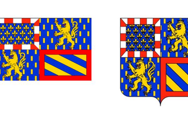 Nouvelles armoiries Bourgogne-Franche-Comté réalisées par Rémi Mathis