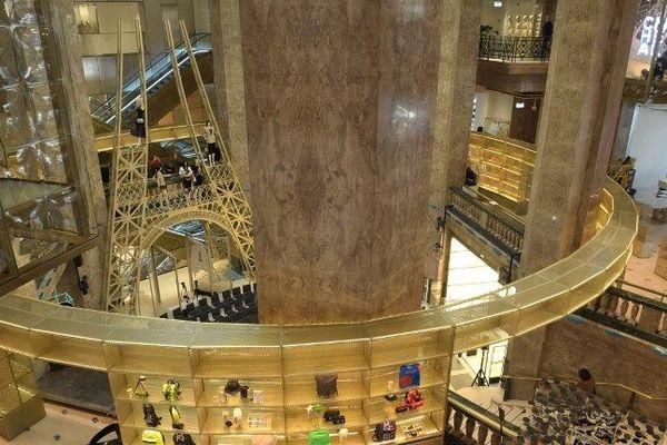 Le magasin prévoit d'accueillir 10 à 15 000 personnes par jour.
