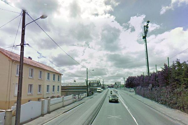 La départementale 938 TER à Marans (17)